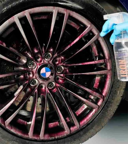 Iron Decontamination & Car wheel cleaning